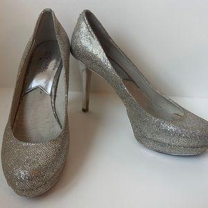 Michael Kors sparkled platform heels